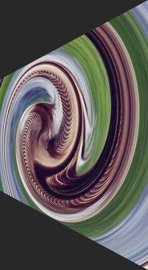 Verzerrter Strudel von acrylice