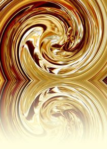 Golden&Gespiegelt von acrylice