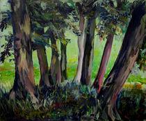 Baumgruppe by Renée König