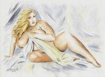 Kurvenreiche sexy Frau  von Marita Zacharias