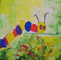 eine glückliche Raupe by Marie Luise Badekow