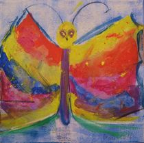 jetzt ist die Raupe ein wunderschöner Schmetterling von Marie Luise Badekow