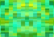green and yellow plaid pattern abstract background by timla
