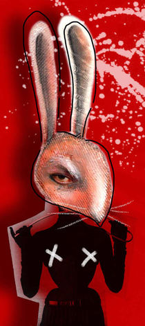 Red Rabbit von Irene Cavalchini