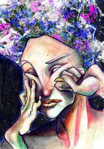 Flower head von Irene Cavalchini