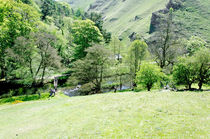 Wolfscote Dale from Gipsy Bank by Rod Johnson