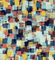 blue yellow and pink square pattern abstract background von timla
