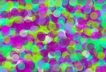 purple blue and green circle pattern  by timla