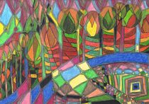 Kerzenbaumallee / Candletreealley by Claudia Juliette Dittrich