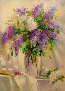 A bouquet of lilacs by Olha Darchuk