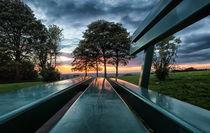 A seat at sunset von Leighton Collins