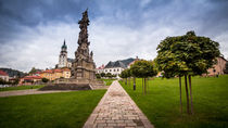 View of the Central Square Stefánikovo Námestie of Kremnica von Zoltan Duray