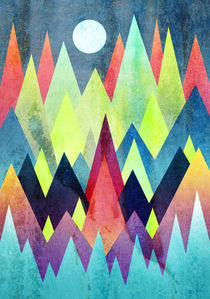 Land of northern lights by Elisabeth Fredriksson