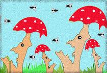 Familie Fliegen-Pilz von claudja