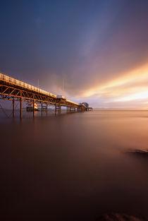 'Daybreak at Mumbles pier' von Leighton Collins