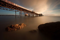 'Morning at Mumbles pier' von Leighton Collins
