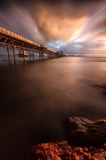 Mumbles pier sunrise by Leighton Collins
