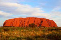 Ayers Rock Uluru in Australien von ann-foto