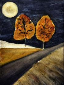 Autumn night - Herbstnacht von Chris Berger