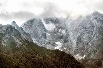 Berchtesgadener Land - Hochkalter mit Blaueisgletscher by Chris Berger