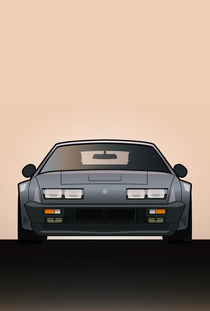 Modern Euro Icons Series Renault Alpine A310 GT by monkeycrisisonmars
