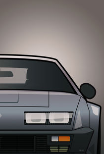 Modern Euro Icons Series Renault Alpine A310 GT (Split) by monkeycrisisonmars