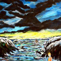 Das Mädchen am Meer von Eberhard Schmidt-Dranske