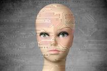 Female robot von Csaba Deli