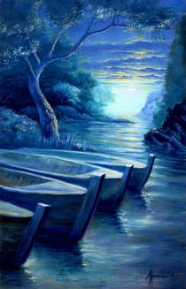 The Three Boats von Arto Heino