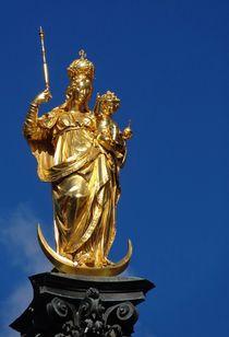 Marienfigur mit Jesuskind by Mareia Claudia Lange