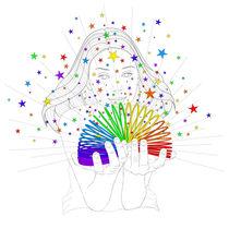 Rainbow spring von Condor Artworks