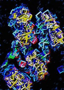 Lichter der Stadt - Neon City by Udo Paulussen