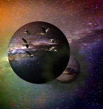 Flug im Universum I von alana