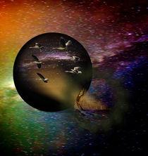 Flug im Universum II von alana