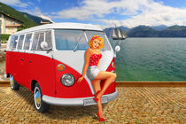 Der Urlaub 1959 am Gardasee  von Monika Juengling