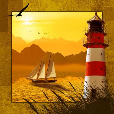 4-jahreszeiten-sommer-leuchtturm