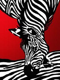 Zebra von Gabi Siebenhühner