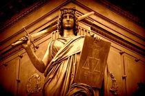 Justitia by Sandra Opolka
