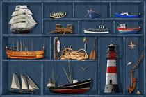Ein maritimer Setzkasten  by Monika Juengling