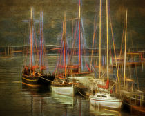 The Boats of Brixham von Edmund Nagele F.R.P.S.