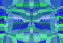 blue and green lines drawing texture abstract background by timla