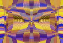 blue purple yellow and gold lines drawing abstract background von timla
