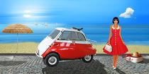 Urlaub mit Isetta in den 60er Jahren by Monika Juengling