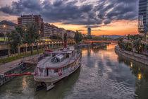 Sunset in Vienna von Gabriel Codrut Nitescu