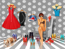 Was ziehe ich nur an?  by Monika Juengling