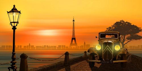 Paris-abends