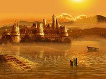 Das Märchenschloß am See by Monika Juengling