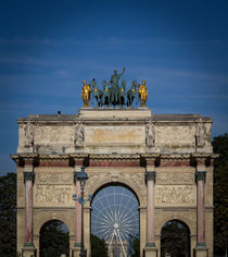 Arc of the Carrousel, Obelisc and Arc of Triumph by Juan Carlos Lopez
