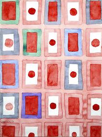 Japanese Flags Pattern von Heidi  Capitaine