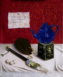 Stilleben mit Pfeife - Sherlock Holmes von Dana Bennewitz